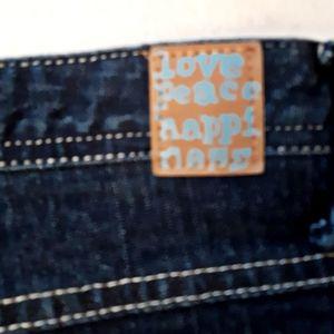 Mudd Jeans - Mudd Jeans Jewel Button Jeans 24 Plus Size